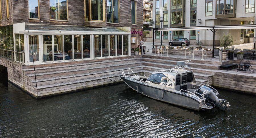 Bryggan vid Restaurang Göteborg