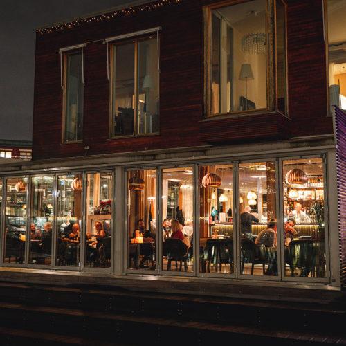 Utanför Restaurang Göteborg